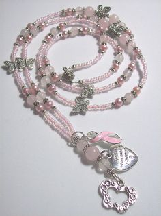 Breast Cancer Lanyard