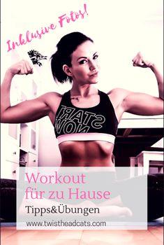 #Tipps und #Übungen für ein #Training zu Hause. #Ganzkörper #Workout inklusive #Fotos. Sport Fitness, Motivation, Workout, Blog, Sports, Hacks, Pictures, Exercise At Home, Life
