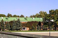 Восстановленное здание Брестской крепости. (Беларусь, Брест)