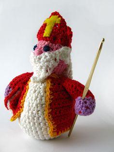 crocheted Sinterklaas =)