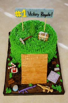 Photo of Sweet Chemistry Confections - Yucaipa, CA, United States. Fortnite Cake