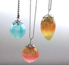 Amazing Liquid Polymer Clay Jewelry Tutorials by Sandrartes