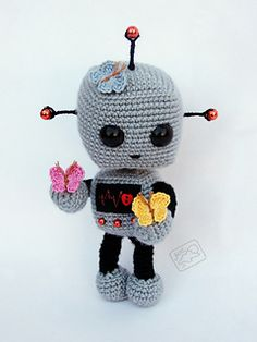 """Robot by Ann of the """"Melody of Moonlight"""""""