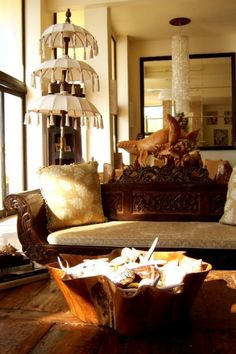 Bali decor on pinterest bali furniture bali and kantha for Balinese decoration