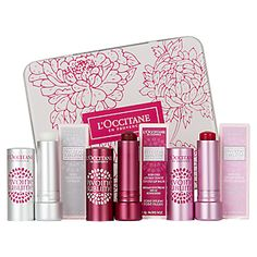 L'Occitane Pivoine Sublime Tinted Lip Balm SPF 25 [It's not everyday you come across a tinted lip balm with SPF in it (the Fresh Sugar ones come to mind). This comes in 4 different shades: Transparent, Rose Nude, Rose Plum and Rose Amber. Heavily floral-scented. If you are sensitive to scents, avoid this at all cost. Otherwise, this is a lightweight moisturising lip balm. Great for everyday use.] Ed. note: It's limited edition.