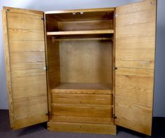 It's time to start packing away the winter clothes for the next few months. Save some space by storing things in one of our Classic Wardrobes.  http://jesscrate.com/Shop/ProductDetails.aspx?CategoryID=50&SubCategoryID=60&ItemID=512