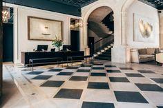 recepcion hotel sant francesc en mallorca diseno en palma diariodesign