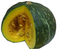 Kabocha squash is a type of Asian pumpkin which  is ideal for cooking in the many Thai pumpkin dishes and also for the fine art of vegetable carving. $6.99