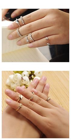 Lovely statement ring set to go along with your street styles. Take a closer watch here.