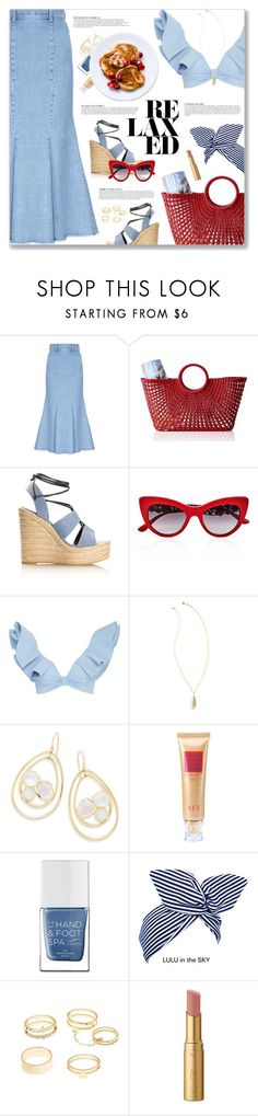 """""""Little Girl's Eyes, Lenny Kravitz"""" by blendasantos ❤ liked on Polyvore featuring FLOW the Label, Mark & Graham, Yves Saint Laurent, Dolce&Gabbana, Johanna Ortiz, Anja, Lilly Pulitzer, Ippolita, The Hand & Foot Spa and Charlotte Russe"""