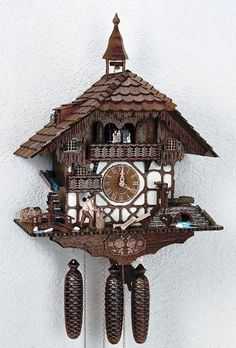 Crafted Black Forest Style House, Model 8TMT 1575/9 from Cuckoo Kingdom.