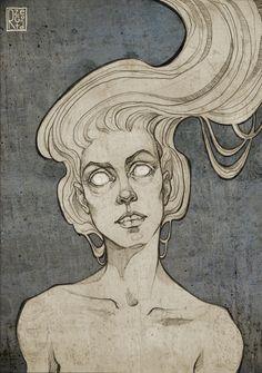 Strzyga illustration on Behance