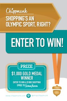 Flex your gold medal shopping muscle and Enter To Win a $1,000 grand prize to Neiman Marcus! #ad