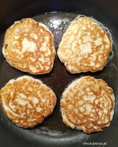 Racuchy z jabłkami | AniaGotuje.pl Pancakes, Cooking, Breakfast, Food, Amazing, Morning Coffee, Meal, Crepes, Kochen