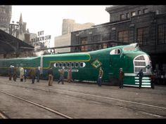 Train Posters, Railway Posters, The Great Migration, Railroad History, Hobby Trains, Train Times, Rail Car, Green Diamond, Train Tracks