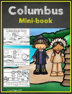 This 10 page mini-book is perfect for your study of Columbus Day. Just print and go!