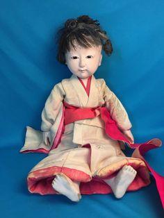Vintage Ichimatsu Japanese Kimono Doll Puppet - 1920s? in Antiques, Asian Antiques, Japan, Dolls | eBay