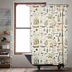 Ephemera Shower Curtain | Sprout Home
