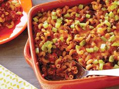Get this all-star, easy-to-follow Sloppy Joe and Macaroni Casserole recipe from Rachael Ray.