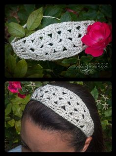 This is a nice FREE crochet headband pattern! So easy only takes about 30 to 45 mins :-)