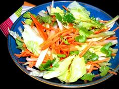 Soy & Yuzu dressing salad Recipe.