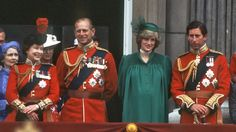 Lady Di with the royal family at the Trooping the Colour ceremony.                                     via @AOL_Lifestyle Read more: http://www.aol.com/article/2013/05/03/princess-diana-the-pregnancy-years/20557017/?a_dgi=aolshare_pinterest#slide=16367|fullscreen