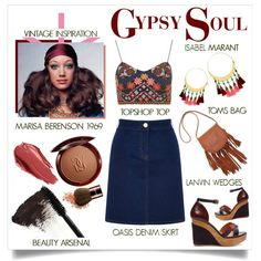 Gypsy and bohemian outfit ideas for 2017 (36)