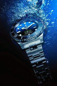 The Rolex Deepsea D-Blue Dial is officially available for purchase as of today, and it retails at $12,350.