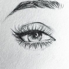 ▷ ideas and inspirations on how to draw eye- ▷ 1001 + Ideen und Inspirationen, wie Sie Auge zeichnen pencil drawings simple, step by step instructions, female eye drawn with pencil - Art Drawings Sketches Simple, Pencil Art Drawings, Realistic Drawings, Drawing Art, Horse Drawings, Drawing Of An Eye, Sketches Of Eyes, Drawing With Pencil, Art Drawings Beautiful