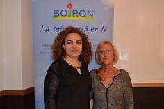 BOIRON estuvo presente en Women 360º, un evento dirigido a mujeres empresarias y trabajadoras, en el que la Dra. Carmen López Sales habló para 27 mujeres directivas de como la homeopatía puede ayudar en la gestión del estrés en la alta dirección. En la imagen, Natalia Pedroviejo, responsable de Marketing Gran Público, y la Doctora Carmen López Sales.