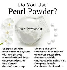 Welcome To The Home Of Authentic Pearl Powder