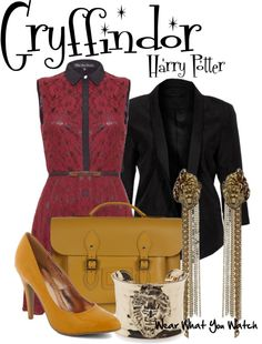 Inspired by Gryffindor House from the Harry Potter franchise.