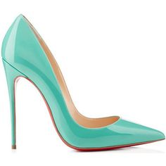 Louboutins 2014 turquoise blue (tiffany blue) high heel pumps - i am in loove with these