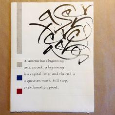 Calligrafia - Book in progress di Monica Dengo #calligrafia #calligraphy