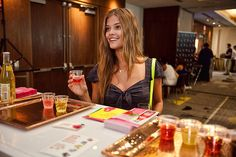 #onli beverages Lifestyle Retreat Lounge -  Miami Fashion Swim Week- July 2013 - Nina Agdal - Sports Illustrated Swimsuit Rookie of the Year 2012