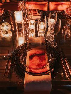 Avante-garde wedding in Montreal, designed by Elyna Kudish; photography by Joel & Justyna Orange Wedding, Montreal, Elegant Wedding, Vintage Inspired, Wedding Decorations, Luxury, Photography, Inspiration, Design