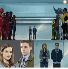 Fitzsimmons is going to be in Spider Man I read an article about this last year and I'm just so excited. I can't believe it's finally happening!!