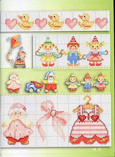 bimbi Beaded Cross Stitch, Crochet Cross, Cross Stitch Embroidery, Cross Stitch For Kids, Cross Stitch Baby, Cross Stitch Borders, Cross Stitch Kits, Cross Stitch Designs, Cross Stitch Charts