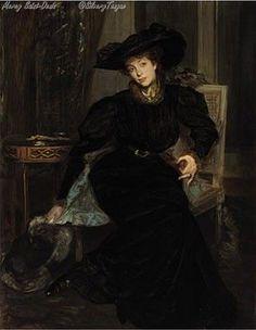 Portrait présumé dElisabeth de Greffulhe par Jacques Emile Blanche.