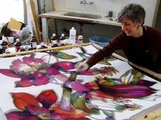 Botanicals on Silk
