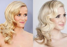 HOW TO: Reese Witherspoon's  elegant Oscar's, side-swept waves