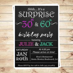birthday invitation : double birthday party invitations - Free Invitation for You - Free Invitation for You