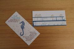 Image of Servicio diseño tarjeta de visita #ferper #clothbag  #kichu #handmade #shop #design #christmas #decor