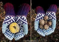 Ravelry: catrionaobrians Slavic kit: hat, cowl, mittens