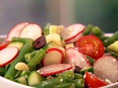 Crunchy Chopped Green Bean Salad from FoodNetwork.com