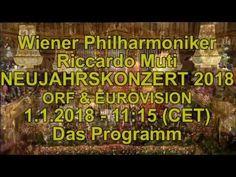 2018 Vienna New Year's Concert Programme - Wiener Philharmoniker Neujahr...