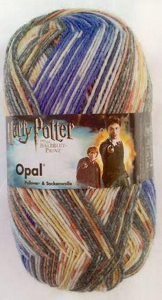 HARRY POTTER  Colorway: Harry & Ron  Opal Sock Yarn by SocksGalore