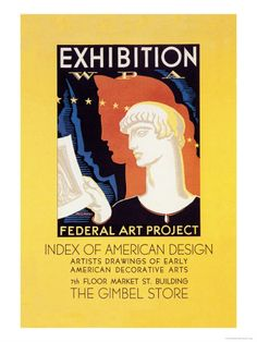 Wpa Federal Art Project: Index of American Design Premium Poster at AllPosters.com