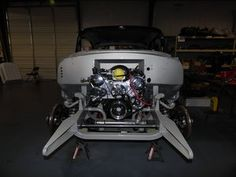 1955 Chevrolet Bel Air - The body has been reinstalled on the frame.