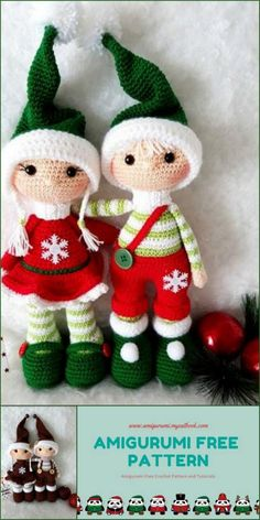 Amigurumi Joris And Josje Free Crochet Pattern – amigurumi.myeatbo… Amigurumi Joris And Josje Free Crochet Pattern – amigurumi. Crochet Baby Cocoon Pattern, Crochet Patterns Amigurumi, Crochet Blanket Patterns, Crochet Dolls, Free Crochet, Amigurumi Doll, Christmas Crochet Patterns, Sewing A Button, Free Pattern